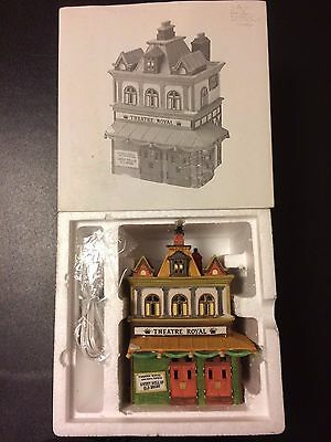 """Dept 56 Dickens' Village Series """"Theatre Royal"""" 56-5584-0 Retired NEW In Box"""