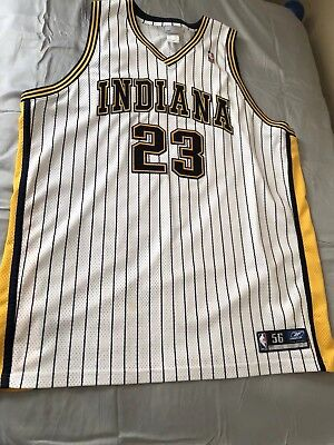 ef4f3d1da RON ARTEST  91 Indiana Pacers Authentic Jersey Reebok Size 56 ...