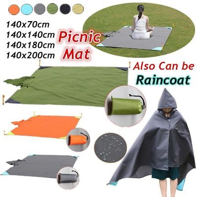 Bright 200 X 200cm Beach Mat Sand Free Magic Mat Beach Sandless Foldable Outdoor Waterproof Blanket Camping Picnic Folding Mat Sports & Entertainment
