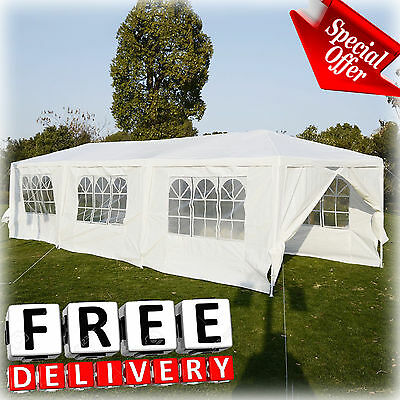 Party Tent 10'x30' Wedding Outdoor Patio Canopy Camping Gazebo Pavilion Event