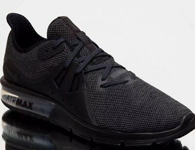 wholesale dealer c3272 9e518 Nike Air Max Sequent 3 Mens 921694-010 Black Anthracite Sz 11.5 Running  Shoes