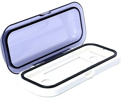 Universal Water-Resistant 1-DIN Marine Boat Radio Stereo Housing Clear Cover USA