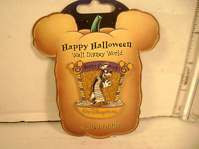 Disney  Goofy  Happy Halloween L.E.  Pin 2007