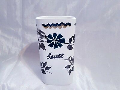 Vintage 1960's/1970's Toni Raymond Pottery Square Sauce Bottle Container