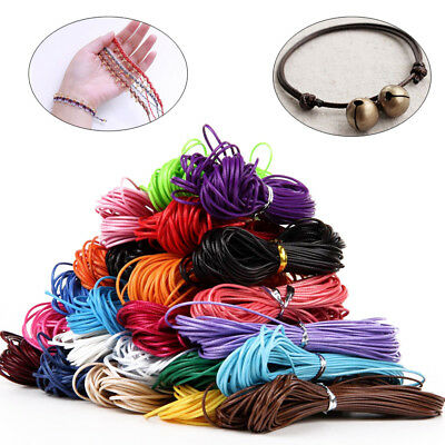 Decor Christmas Twine String DIY Rope Waxed Cotton Cords Jewelry Making Cord