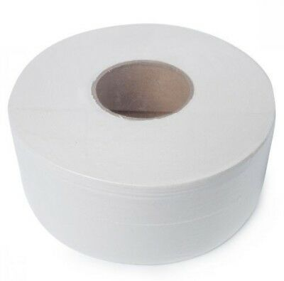 Cheap Jumbo Roll Toilet Paper Tissue 2 Ply 300 Metres, 8 Rolls ctn White Quality