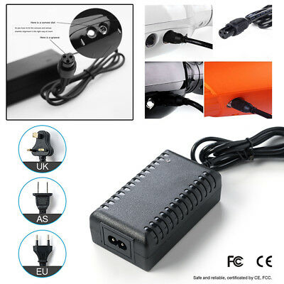 42V Power Adapter Charger For Balancing Scooter Hoverboard Unicycle US/AU/EU/UK