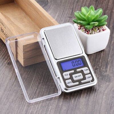 Mini Digital Pocket Weighing Scales 0.01 g to 200 g Drug Herb Lab Gold Jewelry