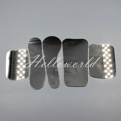 1x Dental Orthodontic Photograph Mirror Photographic Stainless Steel Reflector