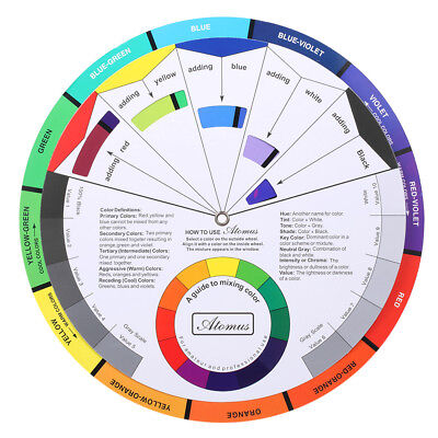 Pocket Guide To Mixing Color The Color Wheel Artist Paint Mixing Guide G1W1