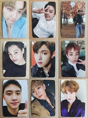 LOT of 9 EXO VIVACE Official PHOTOCARD [DON'T MESS UP MY TEMPO] 5th Album