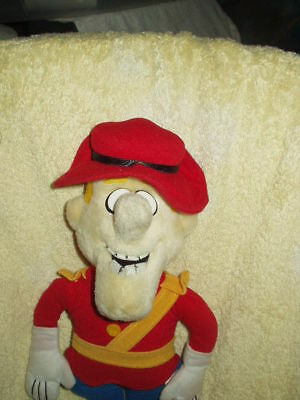 "Dudley Do Right 16"" With Tags Licensed Plush"