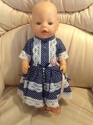 ZAPF Creations Drinking & Wetting Baby Born Doll 43cm Tall Excellent Condition