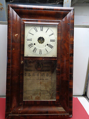 Vintage Jerome thirty Hour weight driven clock LOTCOL3981
