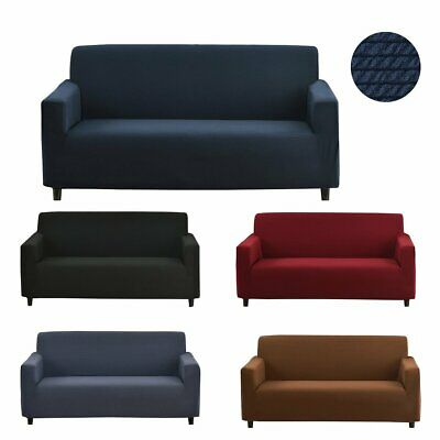 New Durable Sofa Stretch Cover Couch Loveseat Settee Dining Protector Throw