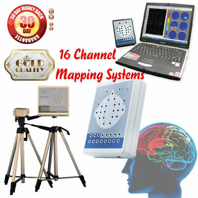 CE CONTEC KT88 Digital 16-Channel EEG Machine and Mapping System+2*Tripods,New