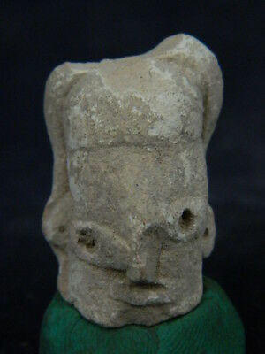 Ancient Indus Valley C.2500 BC Teracotta Head  ###TR810###