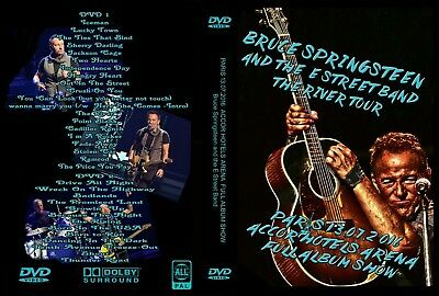 Bruce Springsteen. 2016. Paris Second Night. July 13 Th. 2 Dvd.