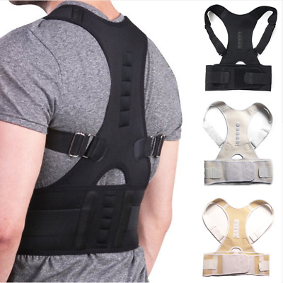 Posture Corrective Therapy Back Brace for Men and Women Flexposture Magnetic