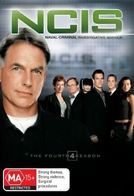 NCIS : Season 4 (DVD, 6-Disc Set) NEW