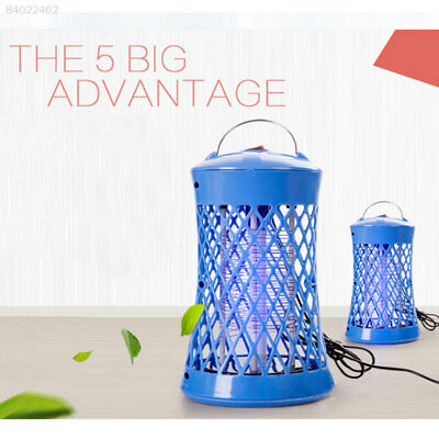 4AB8 Summer Electric Anti Mosquito Fly Insect Killer With Trap Lamp 220V EU