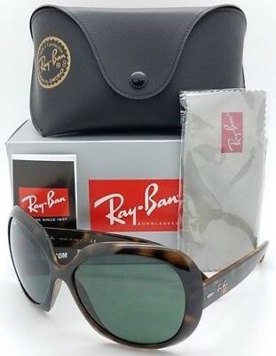 c80ffff079e NEW Rayban Jackie Ohh ll Sunglasses RB4098 710 71 Tortoise Grey 4098  AUTHENTIC