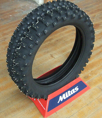 Mitas Trelleborg Studded Winter Motorcycle Tires 80/100-21 100/90-19 PAIR SET