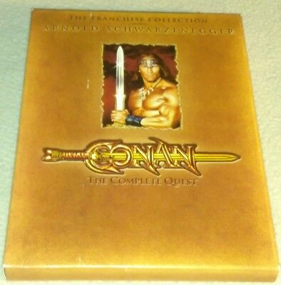 Conan - The Complete Quest dvd