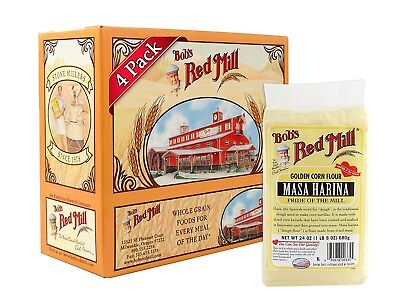 (710ml (Pack of 4)) - Bob's Red Mill Flour Corn Masa Harina, 710mls (Pack of 4)