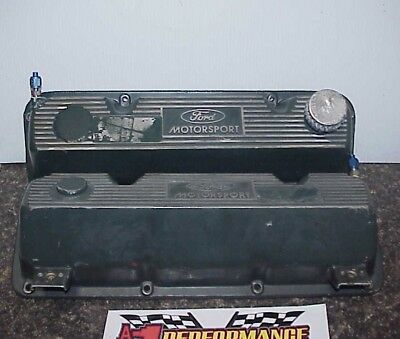 Roush Racing Ford Valve Covers for Yates C-3 Aluminum Heads with Oilers NASCAR