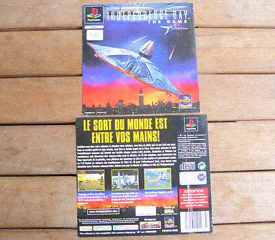 INDEPENDENCE DAY The Game (1997) PLAYSTATION 1 COVER ORIGINALE, NO DISCO