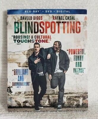 Blindspotting BLU-RAY/DVD/DIGITAL HD w/ SLIPCOVER 2018 *NEW SEALED* ~FREE SHIP~