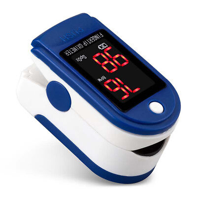 Bluetooth Fingertip Pulse Oximeter Blood Oxygen Heart Rate Monitor Health Pour
