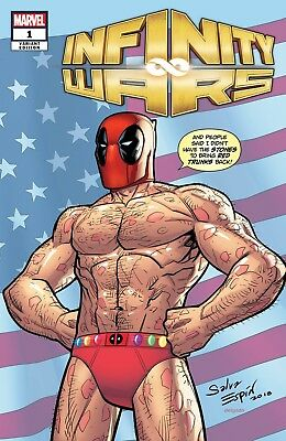 Infinity Wars #1 Deodato Deadpool Party Variant
