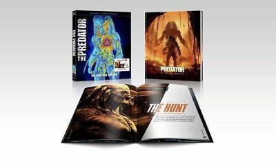 The Predator 2018(Blu-Ray+Dvd+Digital)Target Exclusive 36-Page Book New