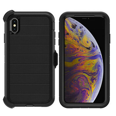 For Apple iPhone XR Xs Max Case Cover | Belt Clip Fits Otterbox DEFENDER SERIES