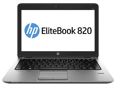 "HP EliteBook 820 G1 12.5"" (256GB, Intel Core i5 4th Gen., 1.6GHz, 8GB) A Grade"