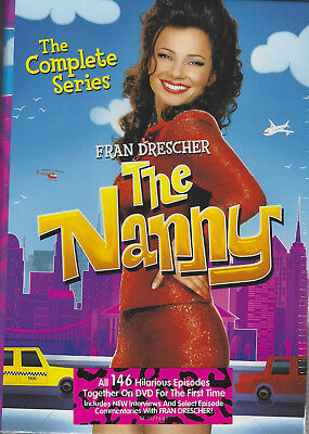 The Nanny: the Complete Series (19- Disc DVD Box Set) Brand New