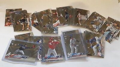 2018 Topps Update Series Gold #/2018 Parallel US1-300 UPick From List Lot