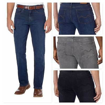 ✅NEW! Urban Star Men's Stretch Relaxed Fit Jeans Denim Straight Leg VARIETY