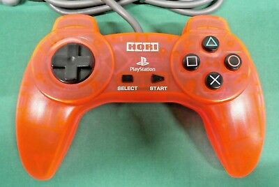 PlayStation - HORI PAD II 2 crystal pink - PS1. controller. JAPAN GAME. 21449