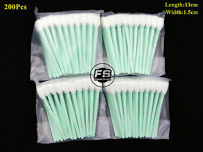200Pcs Solvent Cleaning Swab swabs for Large Format Roland Mimaki Mutoh Printers