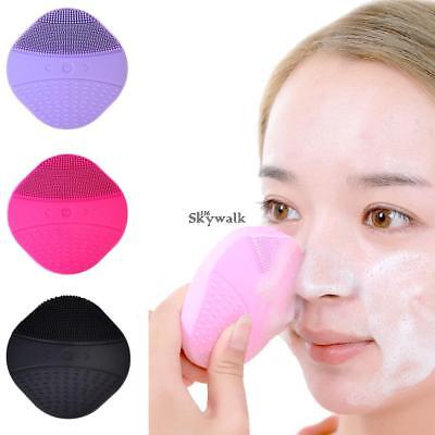Soft Silicone Facial Cleansing Brush Super Electric Skin face washing machine