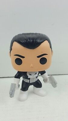 Funko Pop Vinyl PUNISHER WALGREENS Exclusive MARVEL Figure #80 LOOSE