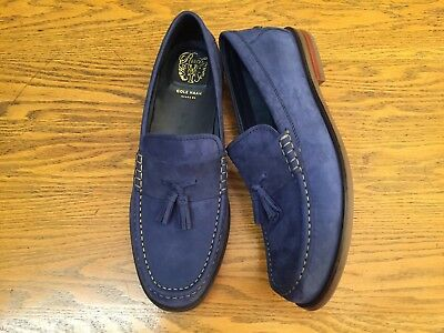 16cd2dcfe32 Cole Haan Mens Pinch Friday Tassel Contemporary Loafers C27600 New Size 11.5