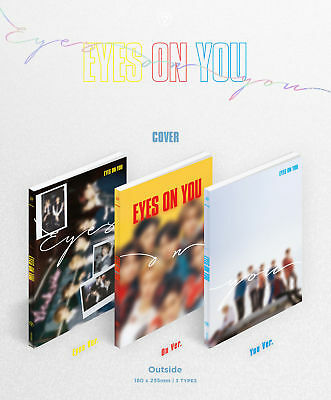 GOT7 [EYES ON YOU] 8th Mini Album- CD+Lyrics Poster+P.Book+3p P.Card+GIFT K-POP