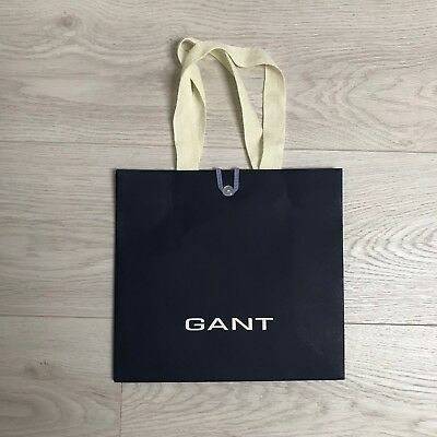 170a996ee0 GANT 25cmx24cm Present Navy Shopping Paper Carrier Bag Accessory Gift Bag  NEW