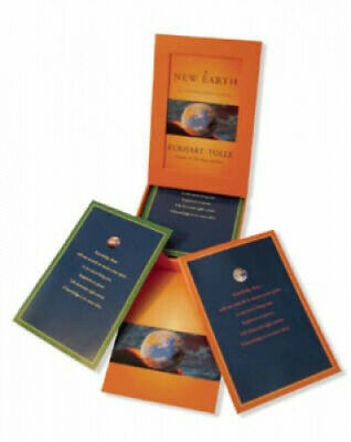 New Earth Card Deck by Eckhart Tolle.