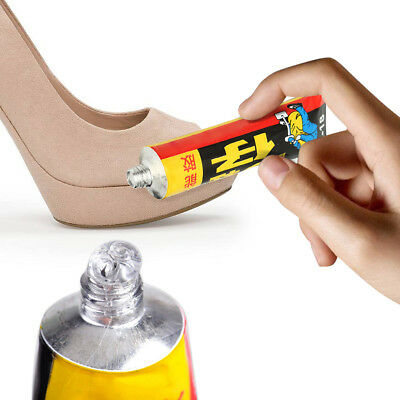 Super Adhesive Repair Glue For Shoe Leather Rubber Canvas Tube Strong Bond 18ml~