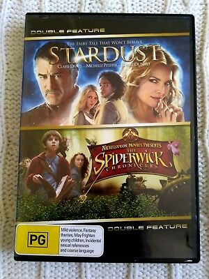 Stardust/ The Spiderwick Chronicles – Dvd, 2-Disc R-4, Like New, Free Post
